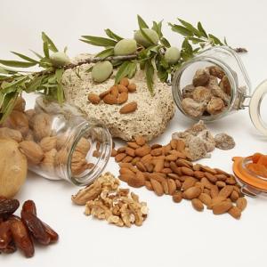 Fruits séchées, noix et graines